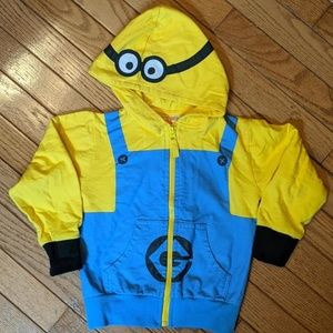 Despicable Me Minion Made Costume Hoodie 3T